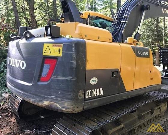 Volvo EC140DL Crawler Excavator 3