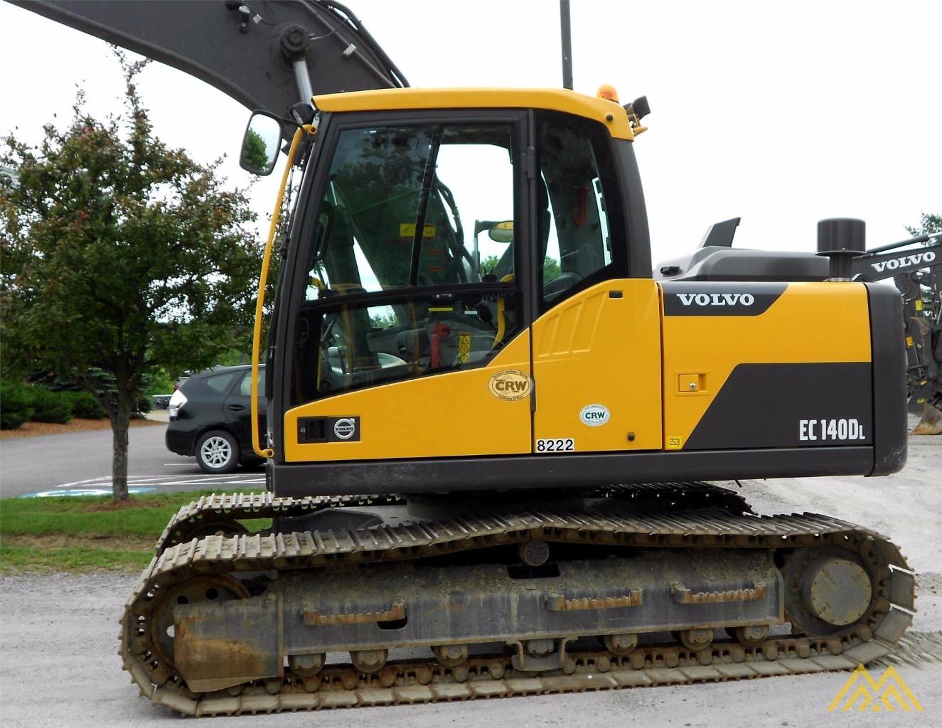 Volvo EC140DL Crawler Excavator 1