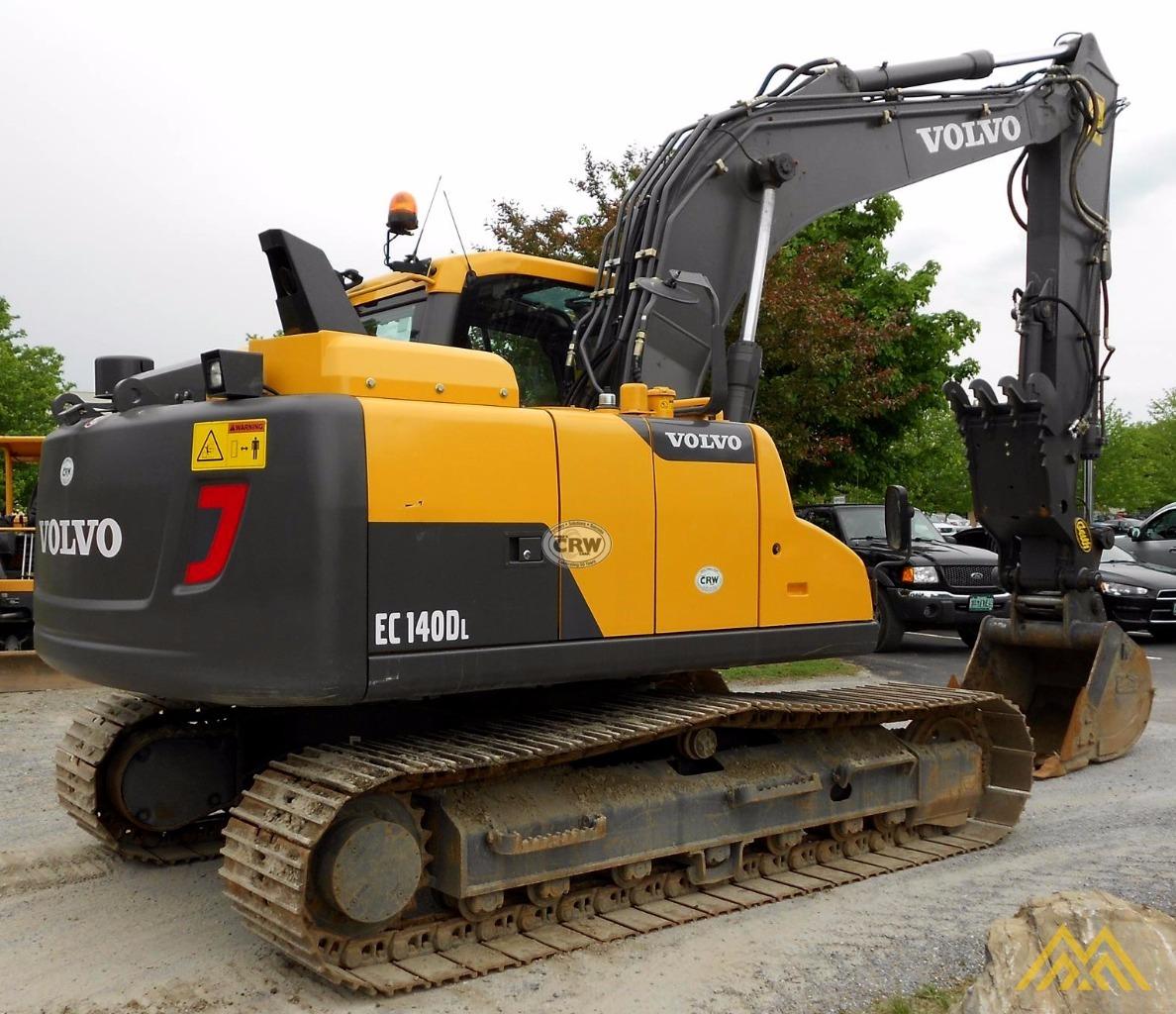 Volvo EC140DL Crawler Excavator 4