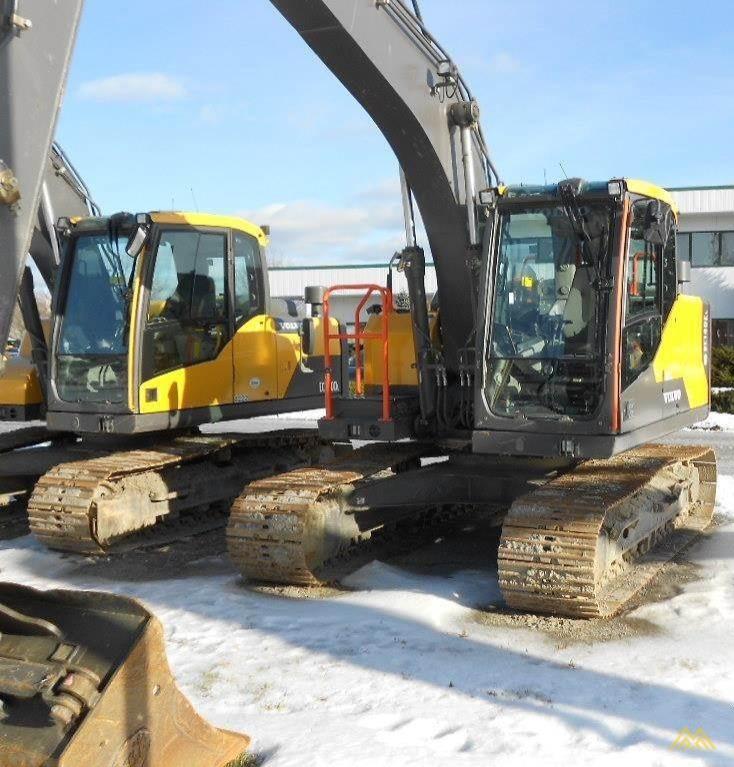 Volvo EC140EL Crawler Excavator 1