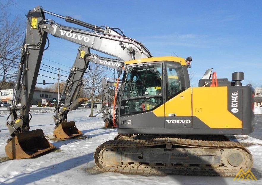 Volvo EC140EL Crawler Excavator 0