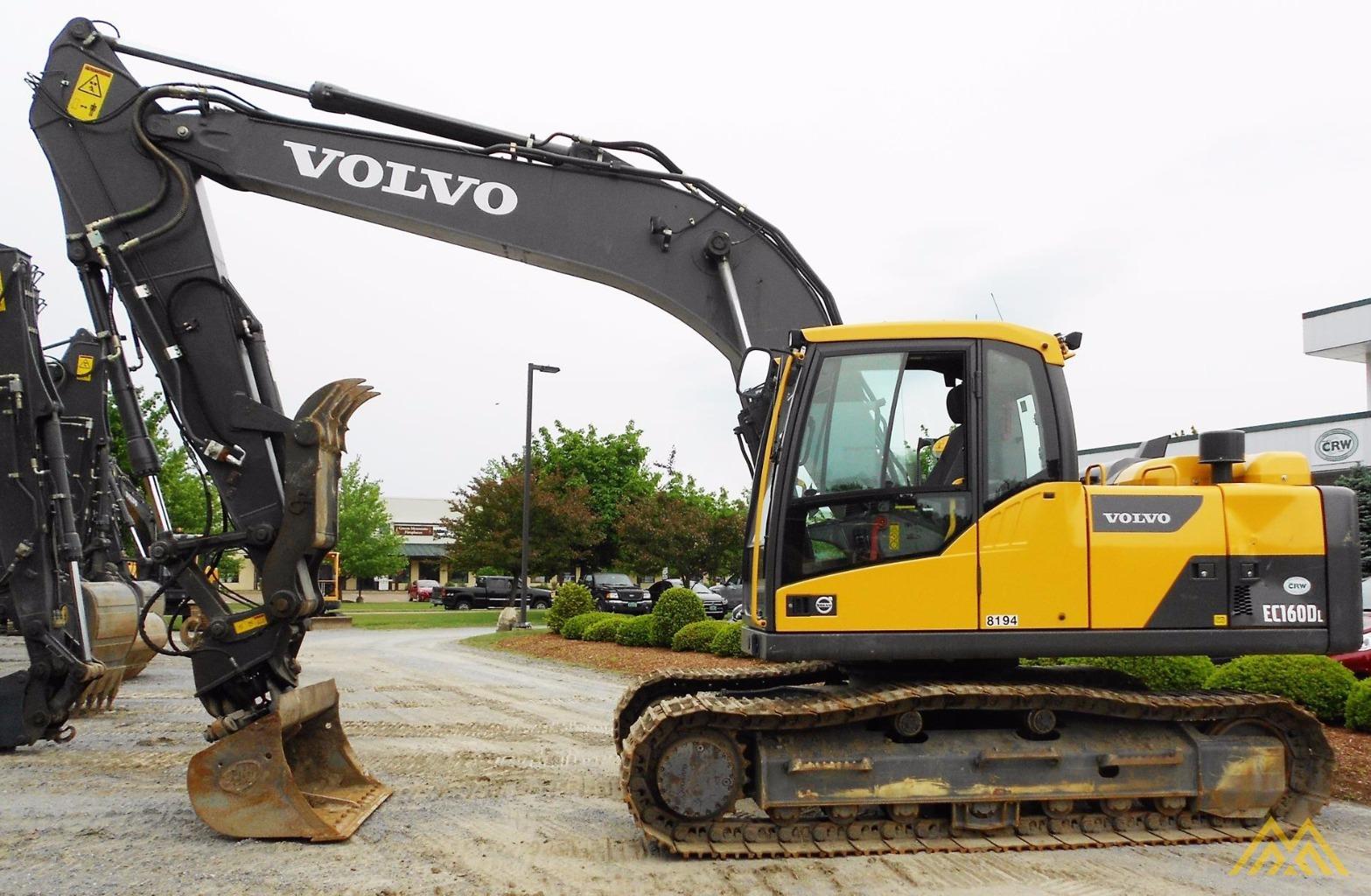 Volvo EC160DL Crawler Excavator 0