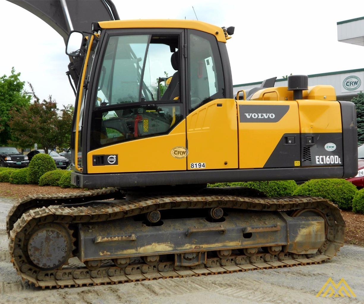 Volvo EC160DL Crawler Excavator 1