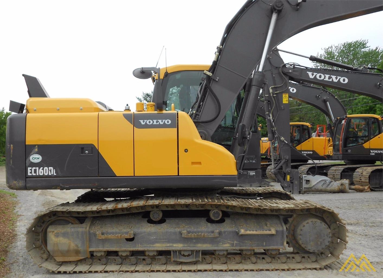 Volvo EC160DL Crawler Excavator 4