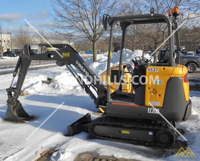 Volvo EC20D Compact Excavator 0