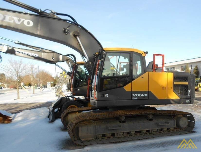 Volvo EC220EL Crawler Excavator 1