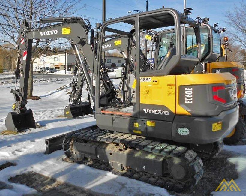 Volvo EC60E Crawler Excavator 0