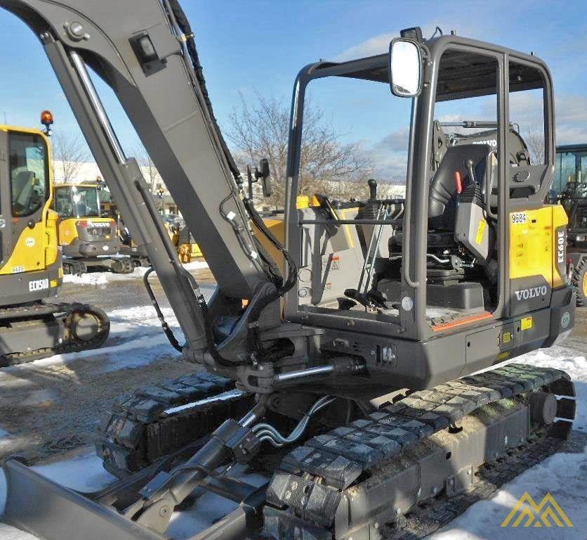 Volvo EC60E Crawler Excavator 3