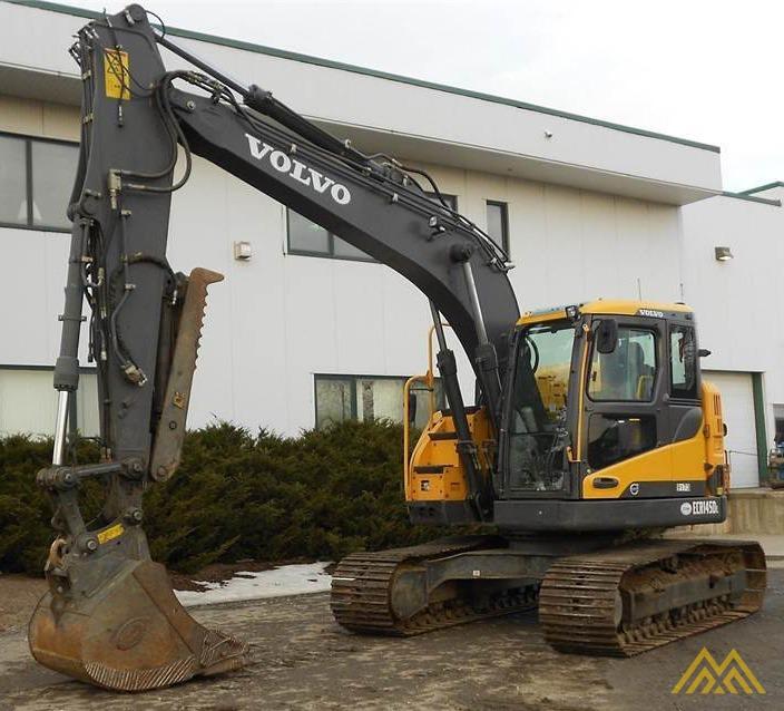 Volvo ECR145DL Compact Excavator 2