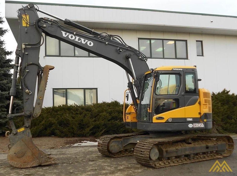 Volvo ECR145DL Compact Excavator 0