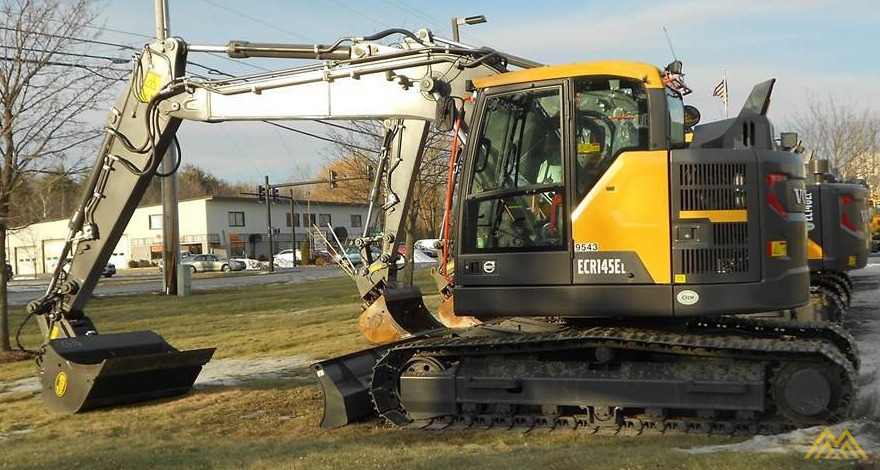 Volvo ECR145EL Compact Excavator 0