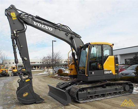 Volvo ECR145EL Compact Excavator 1