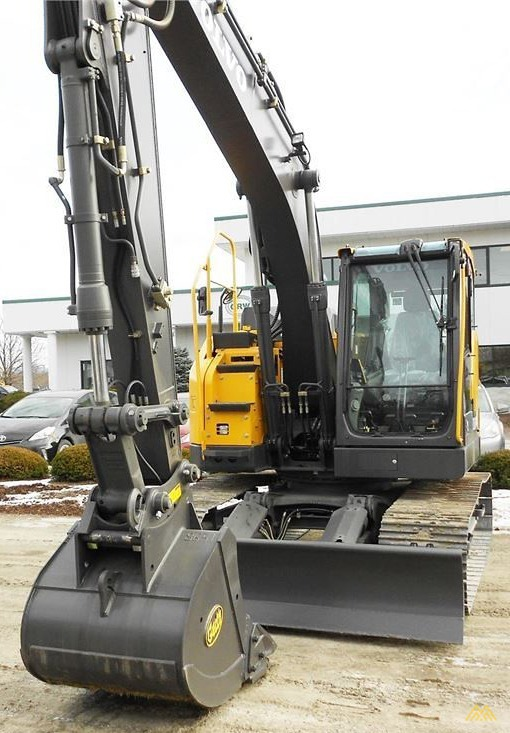 Volvo ECR145EL Compact Excavator 2