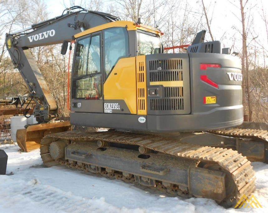 Volvo ECR235EL Compact Excavator 0