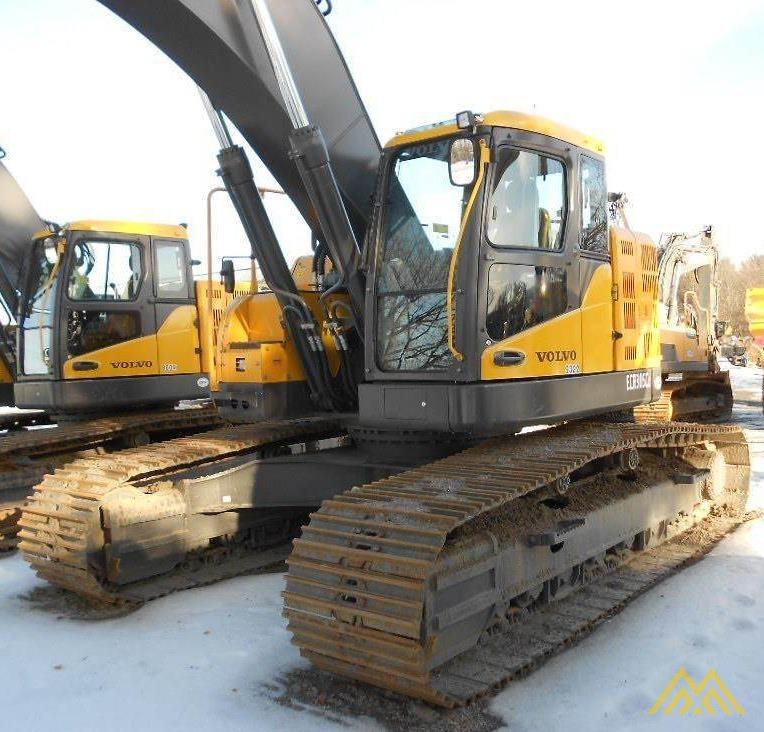 Volvo 750 Excavator For Sale Price: Volvo ECR305CL Compact Excavator For Sale CE Excavators