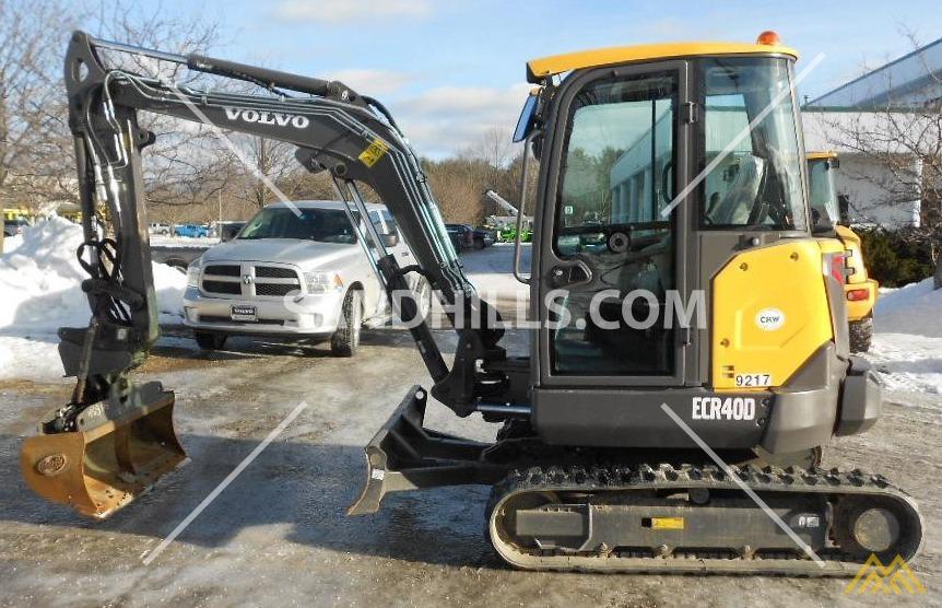 Volvo ECR40D Compact Excavator 0