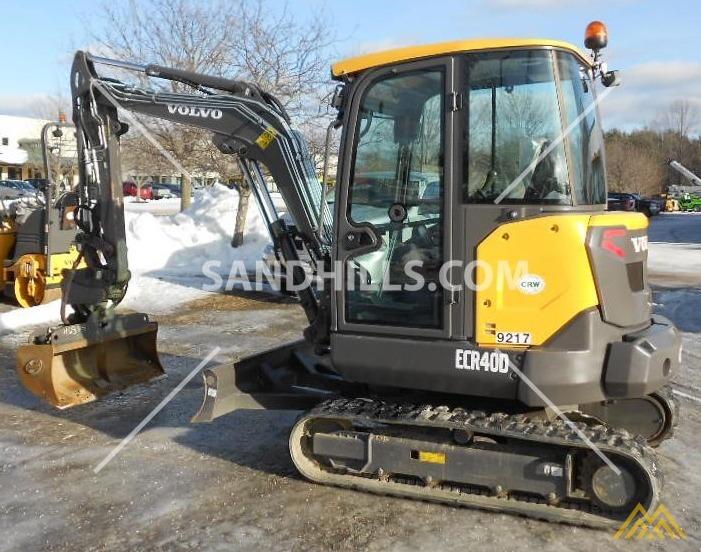 Volvo ECR40D Compact Excavator 1