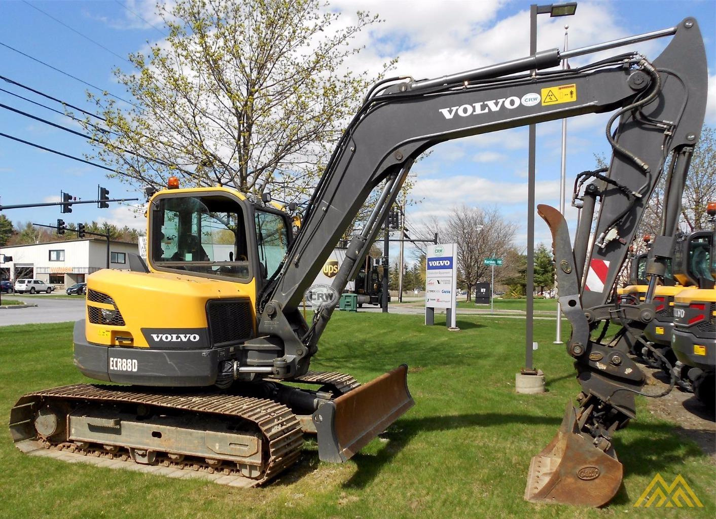 Volvo ECR88D Compact Excavator 0
