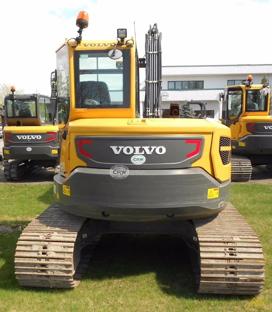 Volvo ECR88D Compact Excavator 2