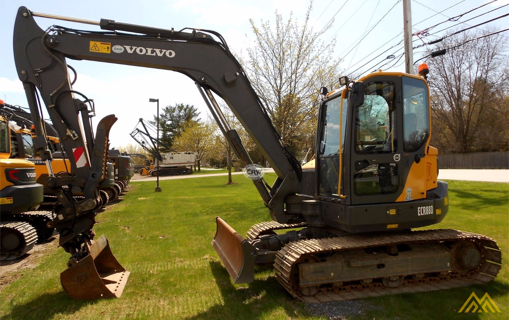 Volvo ECR88D Compact Excavator 3