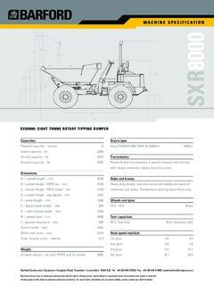 Benford 2 9 ton dumper. Pdf | transmission (mechanics) | manual.