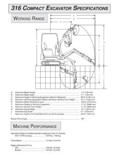 Excavators Specifications Machine Market Page 94