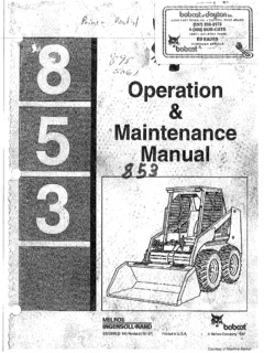 Bobcat Specifications Machine Market