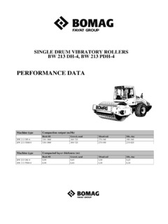 compactor rollers rollers single drum bomag specifications machine rh machine market