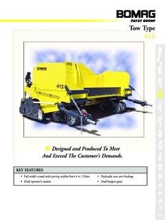 bomag 413 specifications machine market rh machine market BOMAG 814 2 Paver BOMAG 814 2 Paver