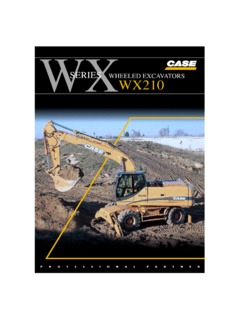 case wx210 manual