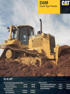 Crawler Track Mounted Caterpillar Cat Specifications Machine