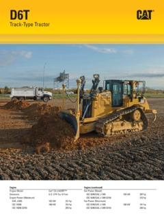 Caterpillar (CAT) D6T XW Specifications Machine Market