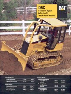 Caterpillar (CAT) D5C Series III Specifications Machine Market