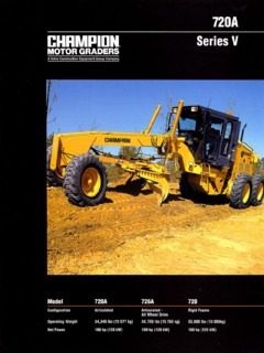 champion road machinery Champion road machinery limited \inc\ has been set up 5/22/1991 in state oc the current status of the business is inactive the champion road machinery limited \inc\ principal adress is po box 10, goderich, ont, canada n7a 3.