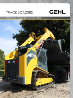 Skid Steer Loaders Crawler Track Mounted Specifications