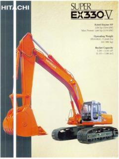 Hitachi EX330-5 Specifications Machine Market
