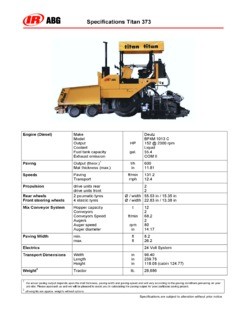 Roadway Paving Equipment-Concrete Asphalt Pavers