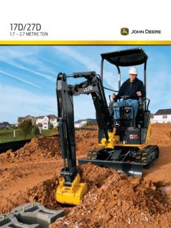 Excavators Compact-Mini John Deere Specifications Machine Market