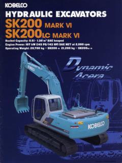 Kobelco Specifications Machine Market