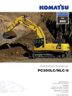 komatsu pc350lc 8 super long front specifications machine market rh machine market Komatsu PC300 Excavator Manual Komatsu PC300 Excavator Manual