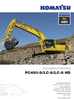 Excavators Komatsu Specifications Machine Market