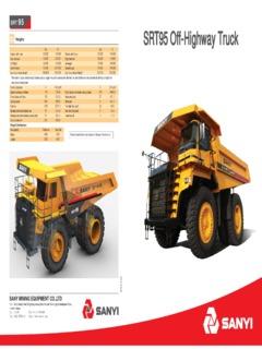Sany Specifications Machine Market