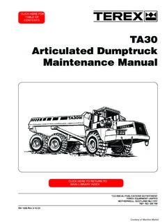 off highway dump trucks terex ta30 specifications machine market rh machine market Terex Services T30 Terex Dump Truck