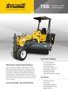 Terramite Tss48 Specifications Machine Market