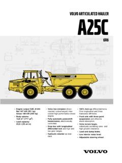 volvo ce specifications machine market page 18 rh machine market volvo a25c dump truck operators manual volvo a25c user manual